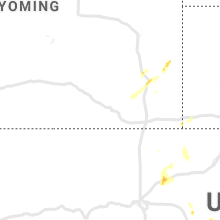 Regional Hail Map for Laramie, WY - Sunday, June 6, 2021