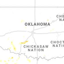 Regional Hail Map for Oklahoma City, OK - Sunday, June 6, 2021