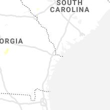 Hail Map for savannah-ga 2021-06-06