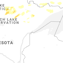 Regional Hail Map for Duluth, MN - Monday, June 7, 2021