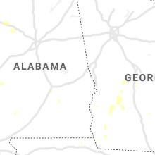 Regional Hail Map for Auburn, AL - Tuesday, June 8, 2021