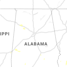 Regional Hail Map for Birmingham, AL - Tuesday, June 8, 2021
