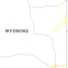Regional Hail Map for Casper, WY - Tuesday, June 8, 2021