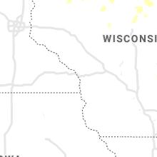 Regional Hail Map for La Crosse, WI - Tuesday, June 8, 2021