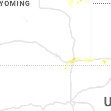 Regional Hail Map for Laramie, WY - Tuesday, June 8, 2021