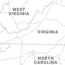 Regional Hail Map for Roanoke, VA - Tuesday, June 8, 2021