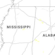 Regional Hail Map for Starkville, MS - Tuesday, June 8, 2021