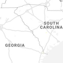 Regional Hail Map for Augusta, GA - Wednesday, June 9, 2021
