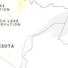 Regional Hail Map for Duluth, MN - Wednesday, June 9, 2021