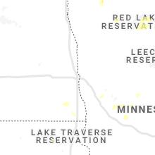 Regional Hail Map for Fargo, ND - Wednesday, June 9, 2021