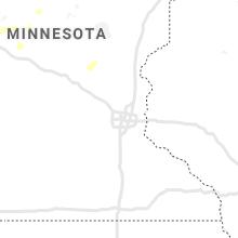Regional Hail Map for Minneapolis, MN - Wednesday, June 9, 2021