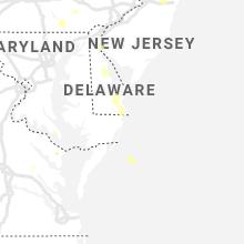 Regional Hail Map for Ocean City, MD - Wednesday, June 9, 2021