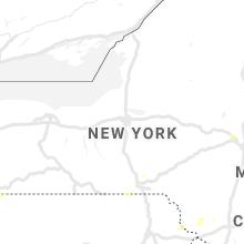Regional Hail Map for Syracuse, NY - Wednesday, June 9, 2021