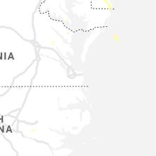 Regional Hail Map for Virginia Beach, VA - Wednesday, June 9, 2021