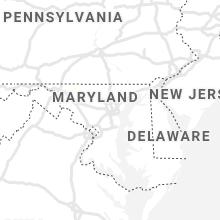 Regional Hail Map for Baltimore, MD - Thursday, June 10, 2021