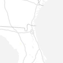 Regional Hail Map for Jacksonville, FL - Thursday, June 10, 2021