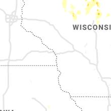 Regional Hail Map for La Crosse, WI - Thursday, June 10, 2021