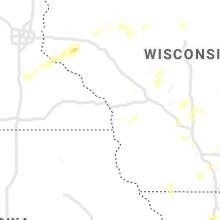 Regional Hail Map for La Crosse, WI - Friday, June 11, 2021