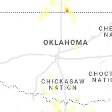 Regional Hail Map for Oklahoma City, OK - Friday, June 11, 2021