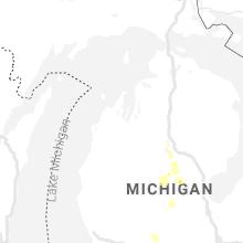 Regional Hail Map for Traverse City, MI - Friday, June 11, 2021