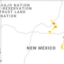 Hail Map for albuquerque-nm 2021-06-12