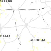 Regional Hail Map for Atlanta, GA - Saturday, June 12, 2021
