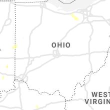 Regional Hail Map for Columbus, OH - Saturday, June 12, 2021