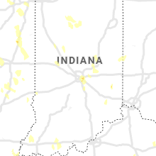 Regional Hail Map for Indianapolis, IN - Saturday, June 12, 2021