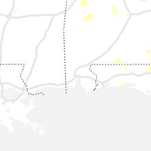 Regional Hail Map for Mobile, AL - Saturday, June 12, 2021