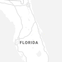 Regional Hail Map for Orlando, FL - Saturday, June 12, 2021