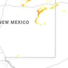 Regional Hail Map for Roswell, NM - Saturday, June 12, 2021
