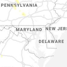 Regional Hail Map for Baltimore, MD - Sunday, June 13, 2021