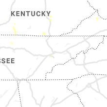 Regional Hail Map for Knoxville, TN - Sunday, June 13, 2021