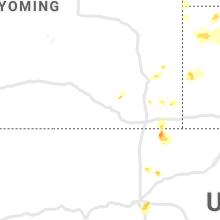 Regional Hail Map for Laramie, WY - Sunday, June 13, 2021