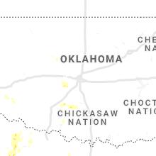 Regional Hail Map for Oklahoma City, OK - Sunday, June 13, 2021