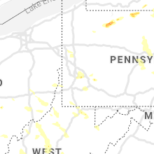 Regional Hail Map for Pittsburgh, PA - Sunday, June 13, 2021