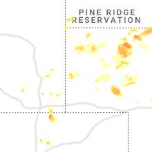Regional Hail Map for Scottsbluff, NE - Sunday, June 13, 2021