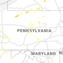 Regional Hail Map for State College, PA - Sunday, June 13, 2021