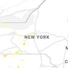 Regional Hail Map for Syracuse, NY - Sunday, June 13, 2021