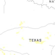 Regional Hail Map for Abilene, TX - Monday, June 14, 2021