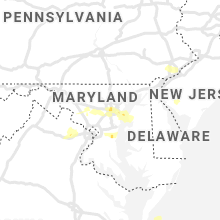 Regional Hail Map for Baltimore, MD - Monday, June 14, 2021
