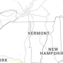 Regional Hail Map for Burlington, VT - Monday, June 14, 2021
