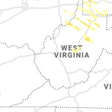 Regional Hail Map for Charleston, WV - Monday, June 14, 2021