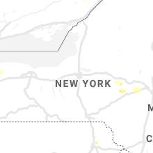 Regional Hail Map for Syracuse, NY - Monday, June 14, 2021