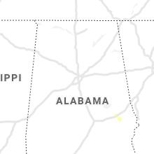 Regional Hail Map for Birmingham, AL - Tuesday, June 15, 2021