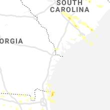 Regional Hail Map for Savannah, GA - Tuesday, June 15, 2021