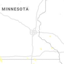 Regional Hail Map for Minneapolis, MN - Wednesday, June 16, 2021