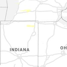 Regional Hail Map for Fort Wayne, IN - Thursday, June 17, 2021