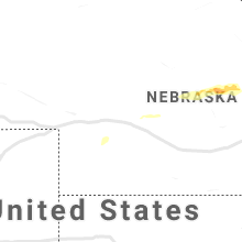 Regional Hail Map for North Platte, NE - Thursday, June 17, 2021