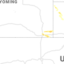 Regional Hail Map for Laramie, WY - Friday, June 18, 2021